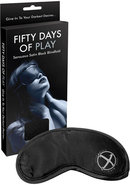 Fifty Days Of Play - Blindfold - Black